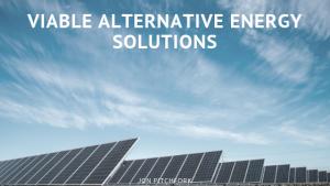 Jon Pitchfork Viable Alternative Energy